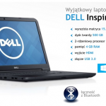 LAPTOP DELL ZA 999 ZŁ W KOMPUTRONIKU