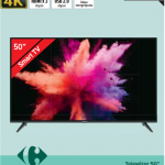 Carrefour:tv thomson 50 cali smart tv za 1099 zł