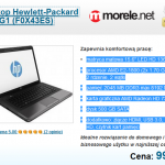 Laptop HP za 999 zł