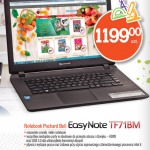 Biedronka notebook Packard Bell Easy Note za 1199 zł